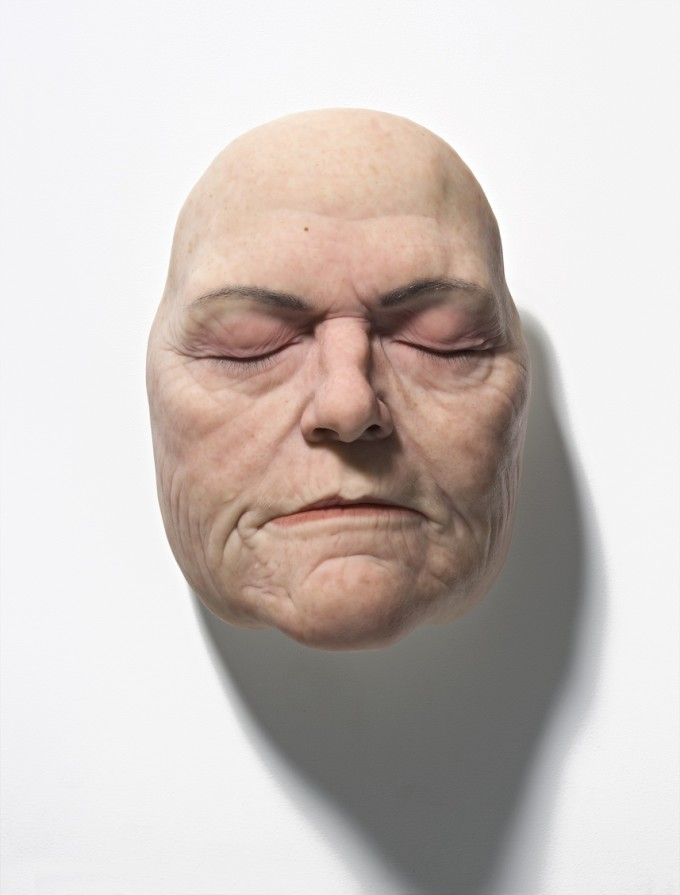 Sam-Jinks-Womens-Face-2008-silicone-pigment-and-human-hair-35-x-25-x-25cm-edition-of-3-+-2AP