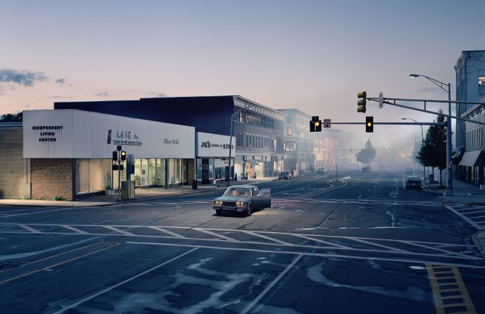 Gregory Crewdson, Untitled (North by Northwest), 2003-2005