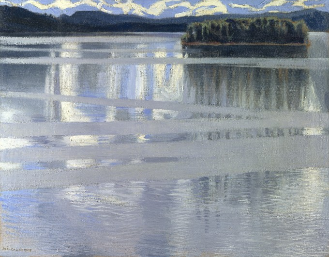 Lake Keitele, by Akseli Gallen-Kallela 1905. From the National Gallery