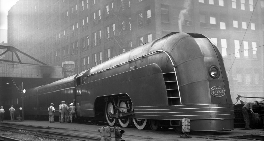 The New York Central Mercury Streamliner (Cleveland Mercury)