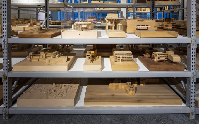 Richard Meier Model Museum - Mana Contemporary Gallery - Architectural Model