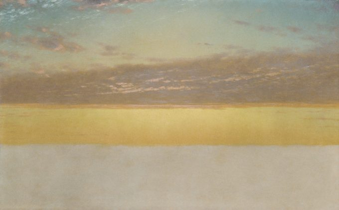 Sunset Sky - By John Frederick Kensett 1872