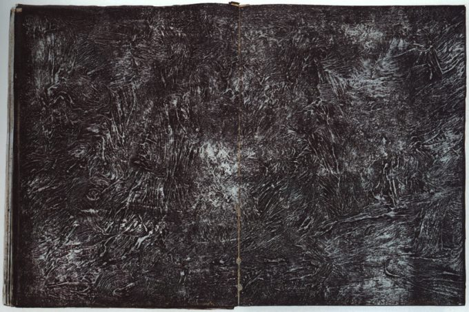 Anselm Kiefer Book - Ausbrennen des Landkreises Buchen (The Cauterization of the Rural District of Buchen)