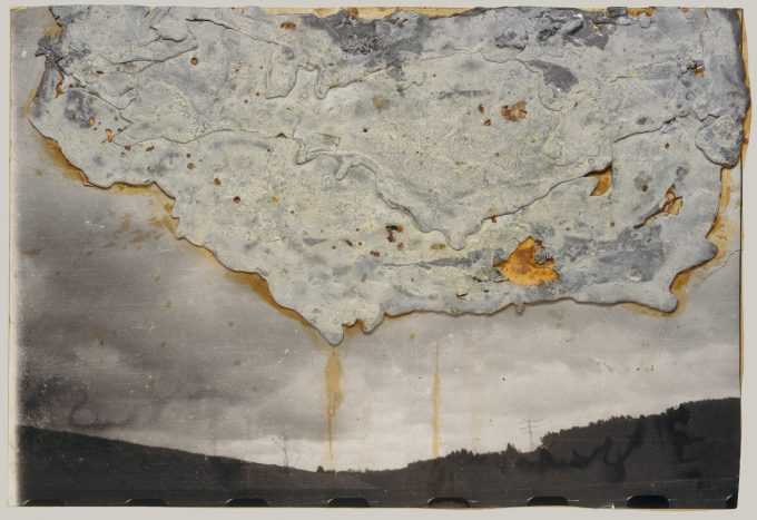 Artist: Anselm Kiefer (German, born Donaueschingen, 1945) Date: 1985 Medium: Lead and shellac on photograph, mounted on board Dimensions: 23 3/8 x 34 1/2 in. (59.4 x 87.6 cm) Classification: Drawings Credit Line: Purchase, Lila Acheson Wallace Gift, 1995