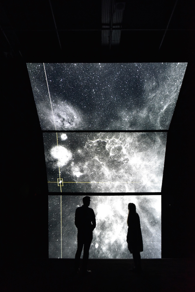 unfold - installation view by Ryoichi Kurokawa