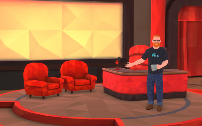 Foo VR - a social Virtual Reality talk show with host Will Smith