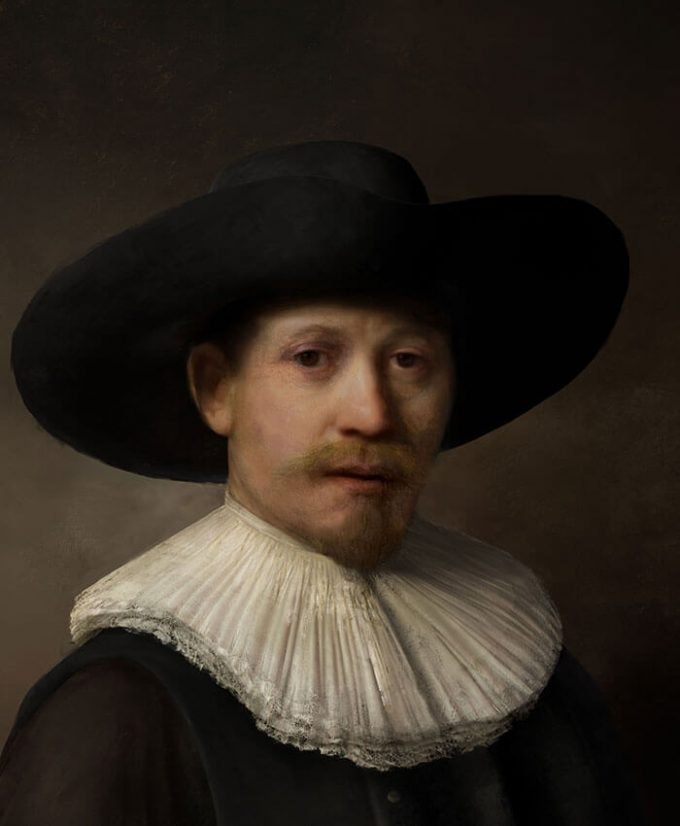 the next rembrandt - final painting