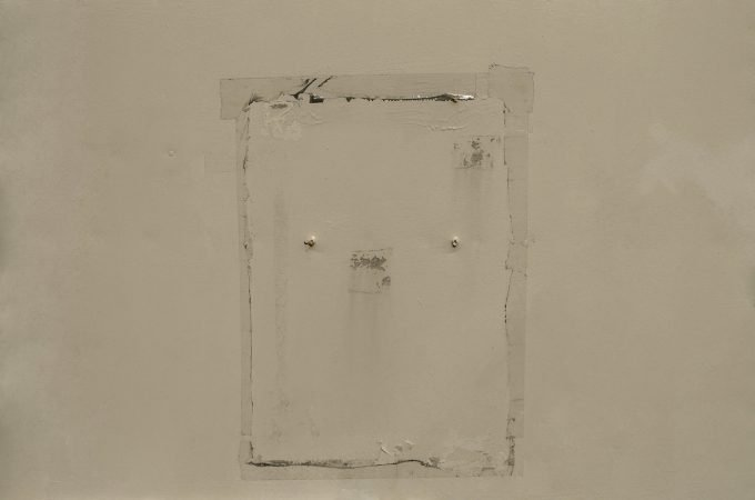 Photograph by John Fraser - White Rectangles - 2015 From the Material Witness series
